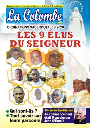 La Colombe SPECIAL ORDINATIONS SACERDOTALES 2020 - DIOCESE DE GRAND-BASSAM - FEV 2020 (PDF)