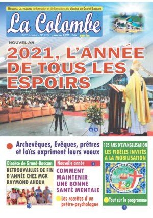 La Colombe N° 205 – JANVIER 2021 (PDF)